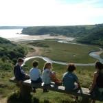 Feierliche Eröffnung des Wales Coast Path