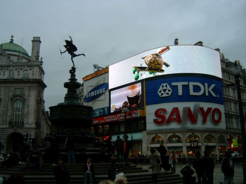 Frühlingserwachen in London