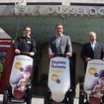 Düsseldorf: Freiluft-Citytouren auf zwei Rädern