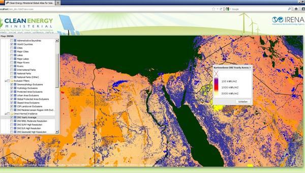 Globaler Atlas für Sonnen- und Windenergie vorgestellt