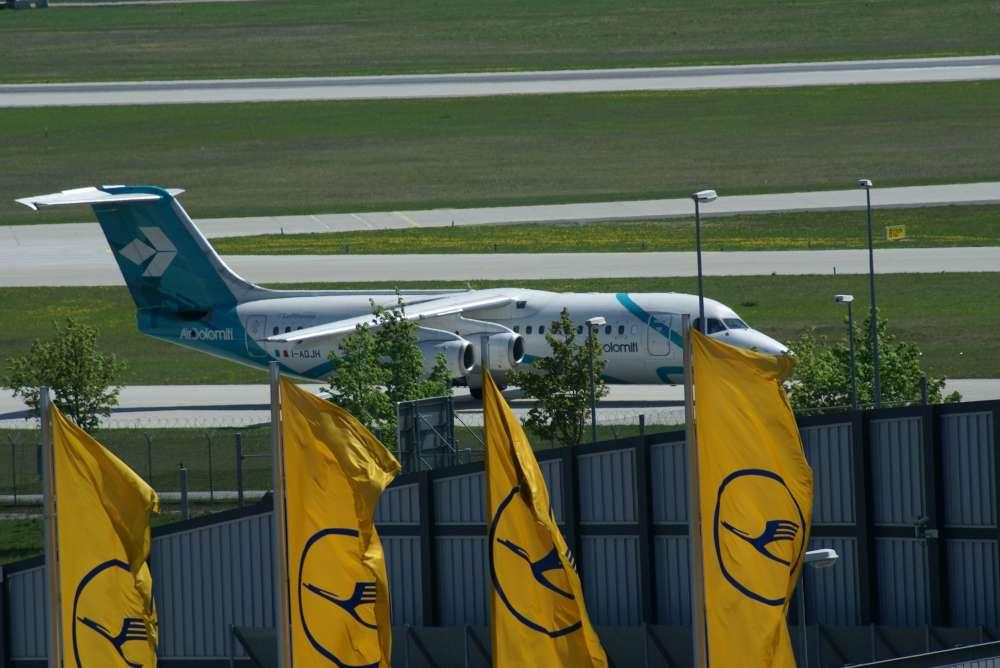 Air Dolomiti Zwischenfall in München