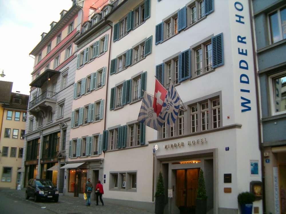 Zürich: Vierbeiner im Luxushotel