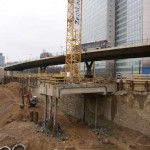 Großbaustelle Düsseldorf-City: Neue Aufnahmen und Ansichten