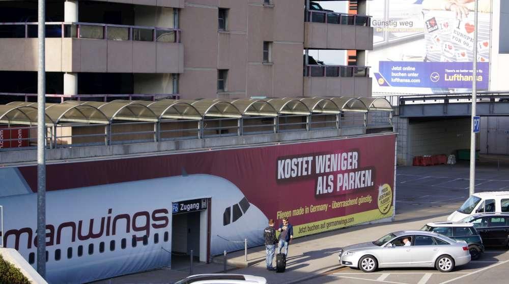 Flughafen Stuttgart:  Urlauber-Parken am Airport