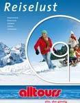 """Im neuen Autoreisenkatalog heißt es ab sofort auch für Wintersportler """"alles, aber günstig"""""""