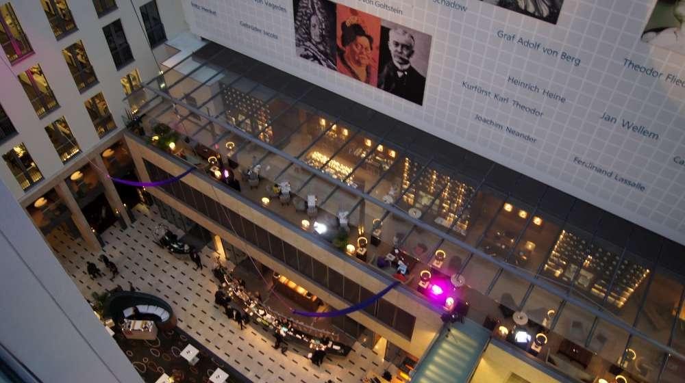 Düsseldorf: Luxushotel wird zum Kulturpalast