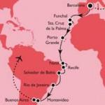 Weihnachten und Silvester nach Südamerika: MS Delphin unterm Kreuz des Südens