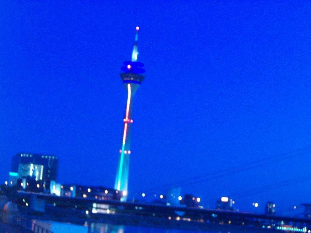 Düsseldorf: Bar & Lounge in luftiger Höhe. Höher kann in Deutschland derzeit keiner