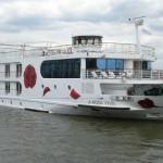 Alles im Fluss: A-ROSA FLORA in der NEPTUN WERFT auf Kiel gelegt