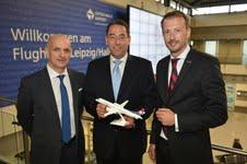 Leipzig/Halle Airport: Neu ab 2.September nonstop nach Paris und Amsterdam mit Darwin Airline