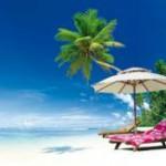 Liegenbelegen im Urlaub. Deutsche markieren gerne ihr Eigentum