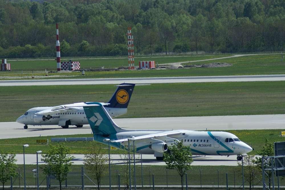 Air Dolomiti mit dem IOSA Zertifikat ausgezeichnet