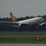 """Hainan Airlines heißt ersten 787 Dreamliner Willkommen und gibt den Startschuss für das Programm """"Fly Your Dream"""""""