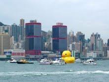 Florentijn Hofmans aufblasbare Kunstwerke zu Gast in Kaohsiung und Keelung  Duell der Riesenenten auf Taiwan