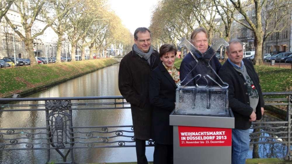 Düsseldorf wird Weihnachtserlebnis 2013