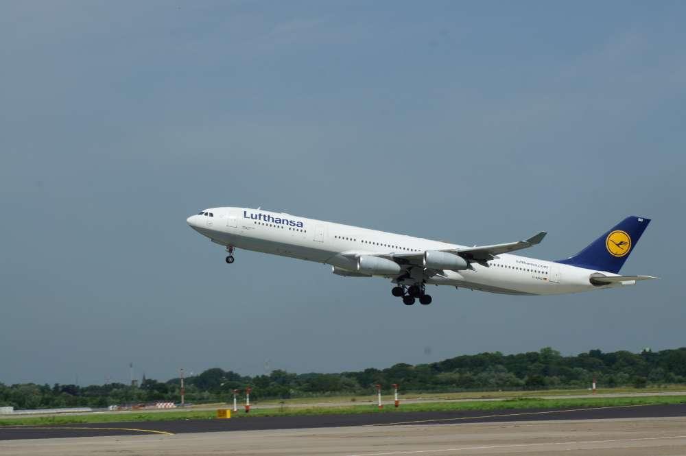 Deutsche Airlines waren 2016 mit nur 3,64 Litern Kerosin pro 100 Personenkilometer unterwegs