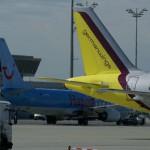 Trouble in der Luft: Von 99 geplanten Flügen der TUI fly starten heute voraussichtlich 75 Flüge