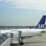 SAS feiert Erstflug von Hamburg nach Oslo