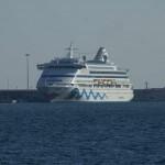 Aida prima – neues Flaggschiff erhält strahlendes Lächeln