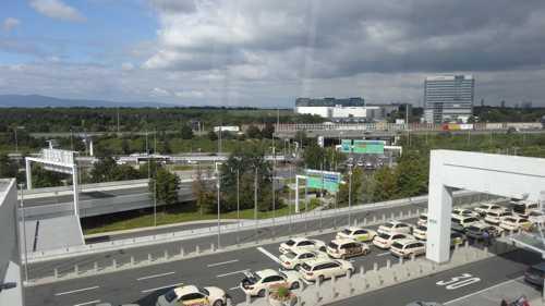Flughafen Frankfurt: Ab Montag neue Verkehrsführung auf der Zufahrt von Terminal 1