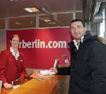Air Berlin: Klitschko an Bord
