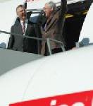 """Swiss Flugzeug mit Namen """"Zürich"""" abgehoben"""