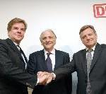 Deutsche Bahn will EWS und Transfesa kaufen