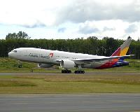 Boeing Delivers 777-200ER in Asiana Airlines' New Livery