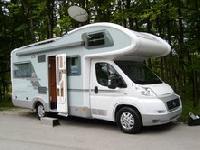 Reisemobile am Counter