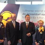 Lufthansa setzt Wachstumskurs in Düsseldorf weiter fort