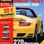 ADAC Auto-Test Neuwagen 2008