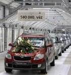 Eine halbe Million Fahrzeuge seit 1945 Škoda feiert Produktionsjubiläum in Kvasiny