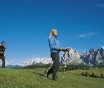 Nordic Walking im Südtiroler Herbst