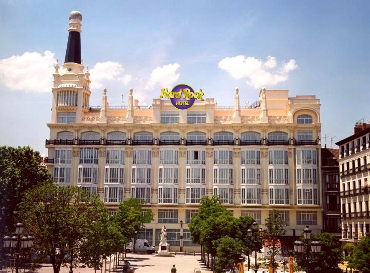 Hard Rock Hotel in Madrid