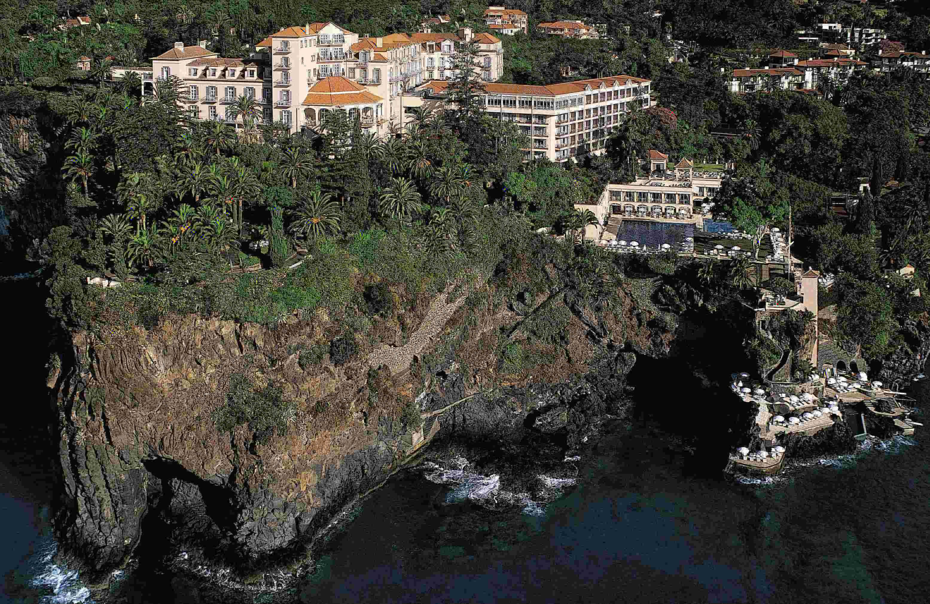 Schöne Aussichten – Reid's Palace in Funchal auf Madeira