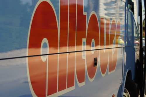 Alltours-Bus auf Mallorca