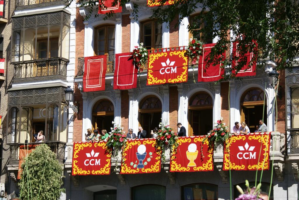 Toledo, Spanien - Fronleichnams-Prozession (03712), Foto: ©Carstino Delmonte (2009)