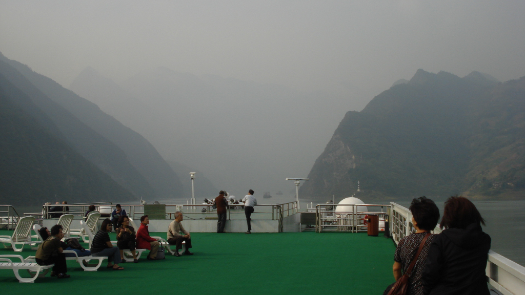 China - Kreuzfahrt mit Victoria Cruises auf dem Yang Tse-Fluss (09998) Foto: ©Carstino Delmonte (2009)