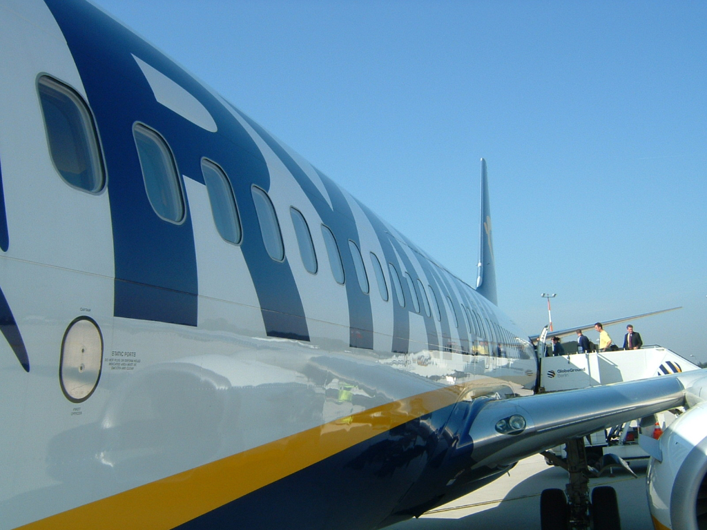 Airlines – Ryan Air, Irische No Frills Airline in Europa