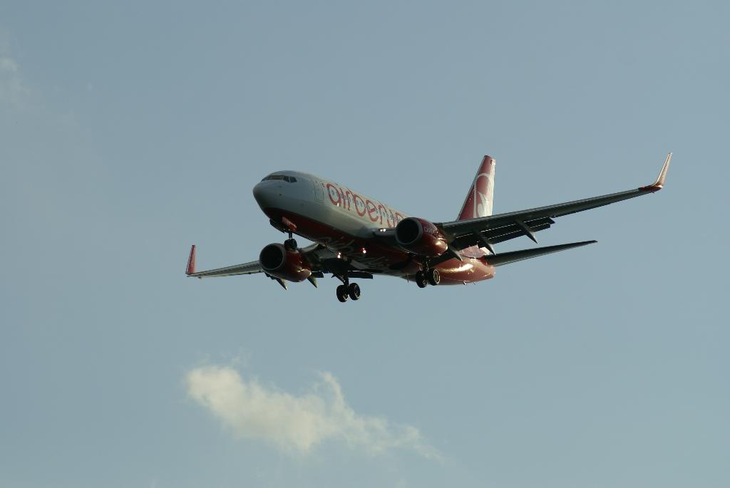 Airlines - Air Berlin - zweitgrösste deutsche Airline mit Drehkreuzen in Europa und Langstreckenzielen
