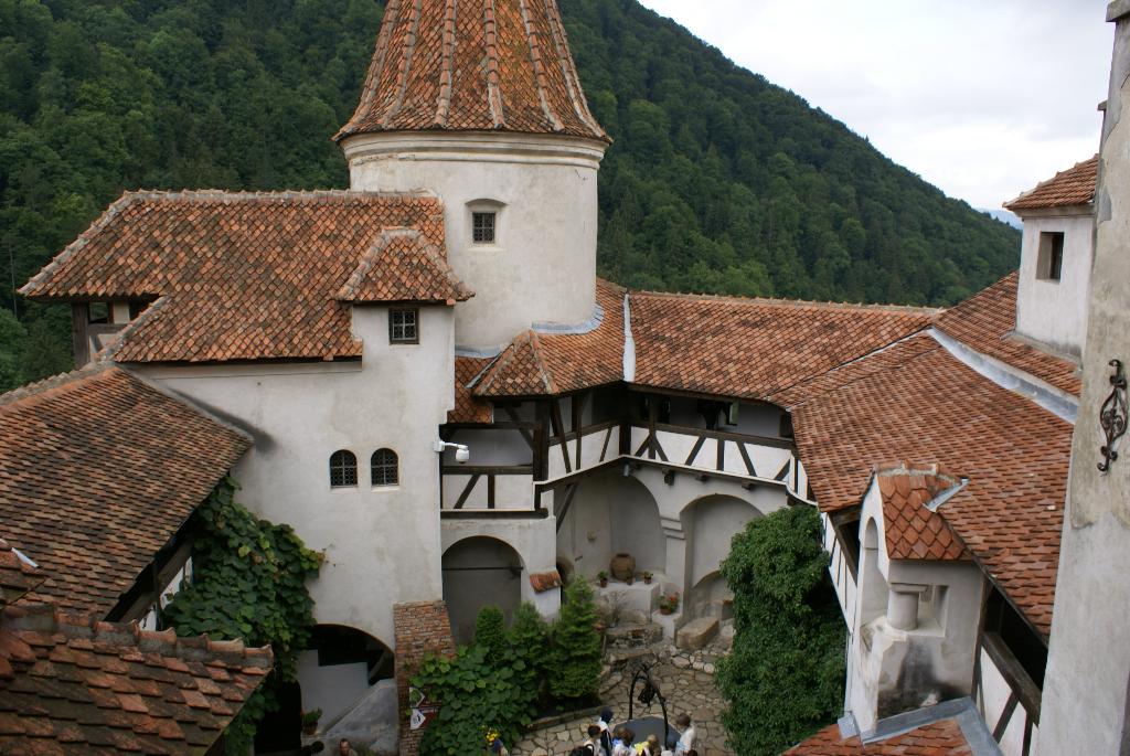 Transsilvanien - Walachei, Törzburg bei Brasov (Schloss Dracula ?), Rumänien (03081) , Foto: ©Carstino Delmonte (2008)
