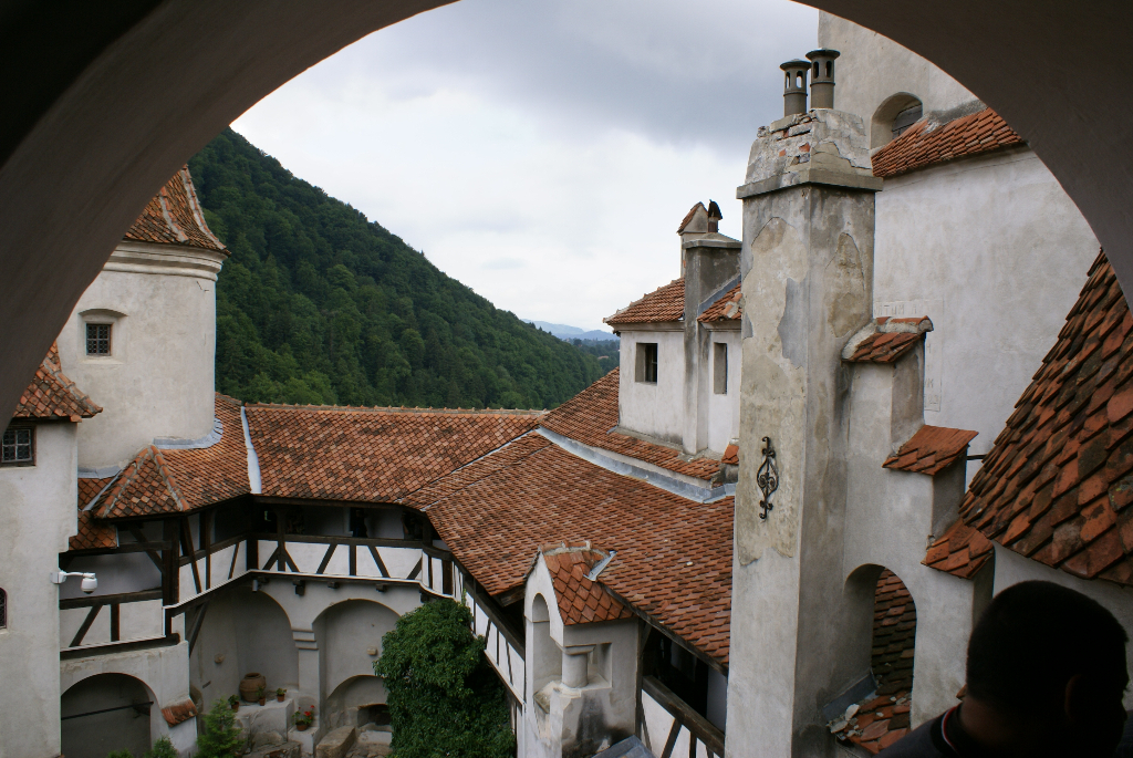 Transsilvanien - Walachei, Törzburg bei Brasov (Schloss Dracula ?), Rumänien