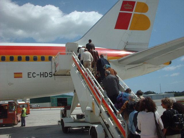 150 angebotene Sitze pro Flug ins Ausland