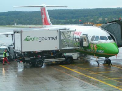 Swiss - schweizerisches Lufthansa-Unternehmen (04291 Foto: ©Carstino Delmonte (2009)