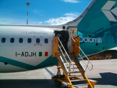 Air Dolomiti - italienisches Lufthansa-Unternehmen (02439) Foto: ©Carstino Delmonte (2006)