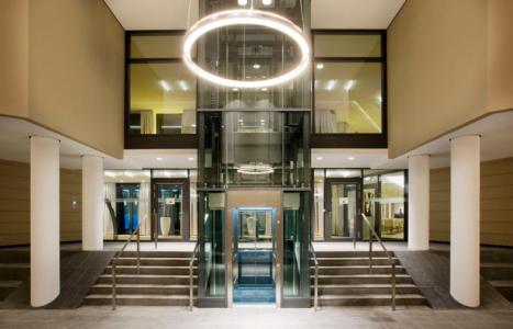 Dresden - Hotellobby des neuen Innside Sol Melia Hotels