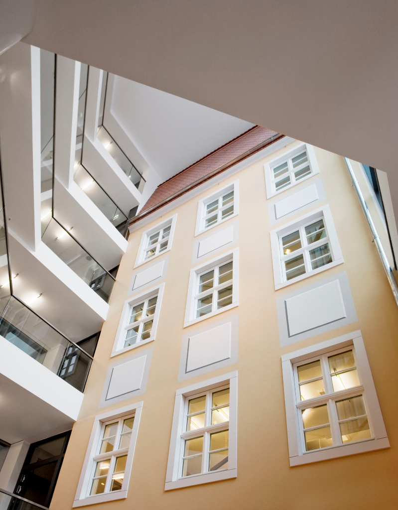 Dresden - Lobby des Innside Sol Melia Hotel
