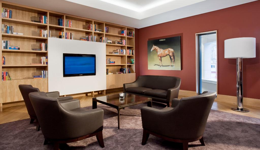 Dresden - Raucherlounge im Innside Sol Melia Hotels
