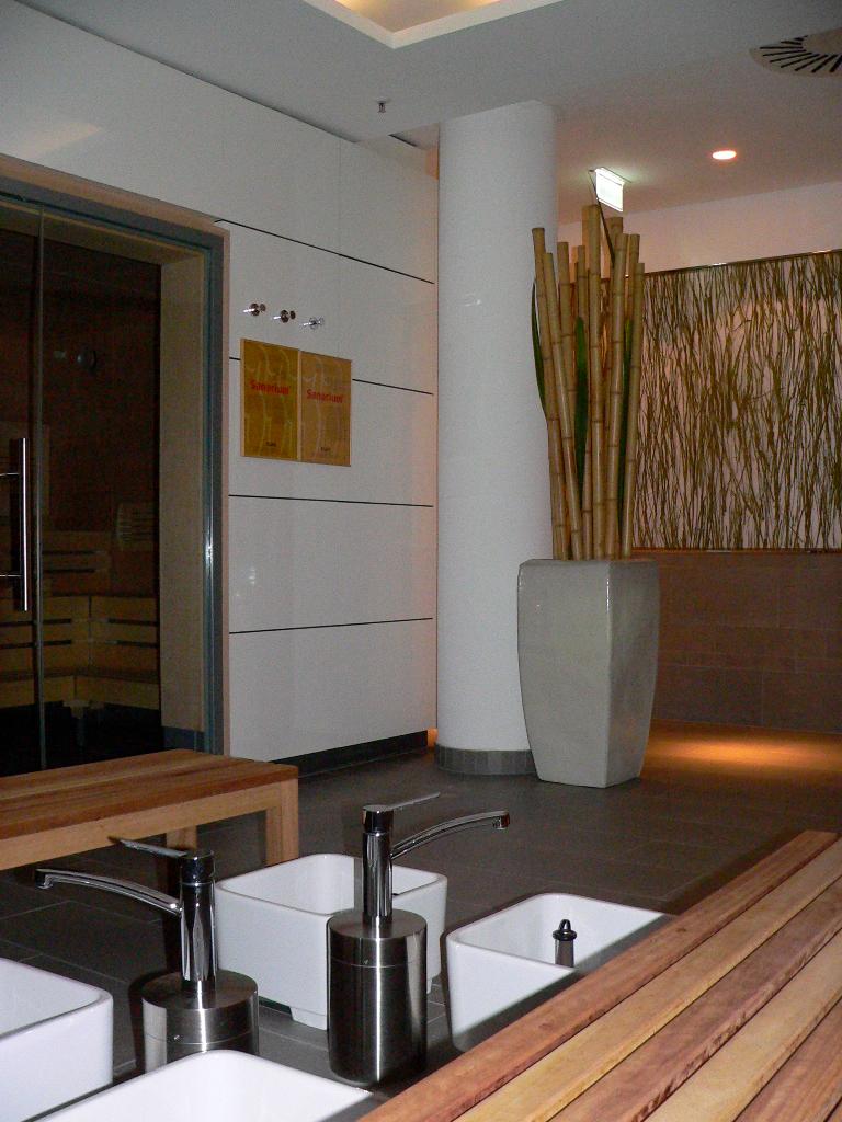 Dresden - Saunabereich im neuen Innside Sol Melia Hotel