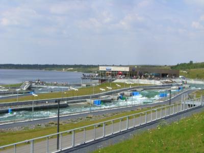 Markkleeberg Kanuapark, Sachsen